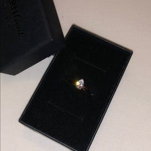 Jewelry - Moderngents Rose Gold Pear Stone Ring